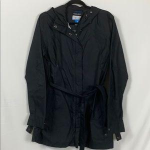 Columbia Omni-shield black jacket women's XL